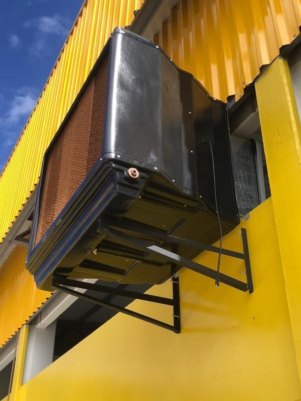Climatizador evaporativo para cozinha industrial
