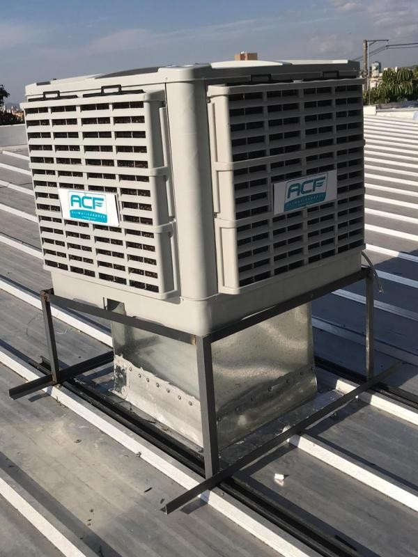 Climatizador industrial evaporativo