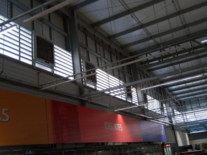 Climatizador industrial de parede preço