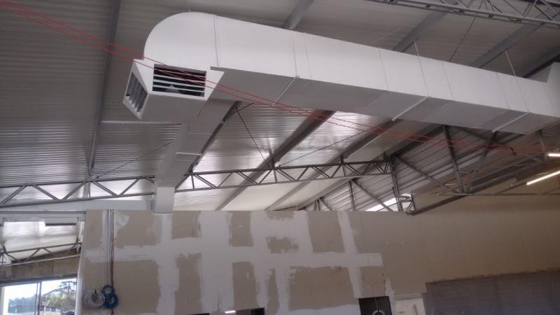 Duto de ventilação