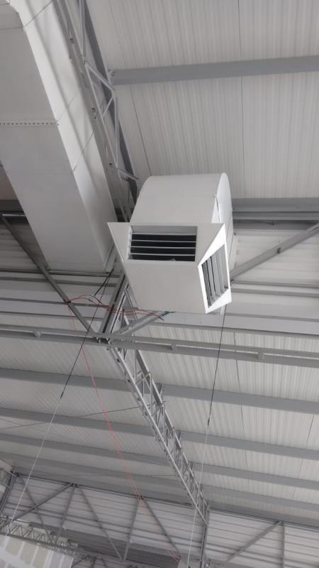 Duto de ventilação ar