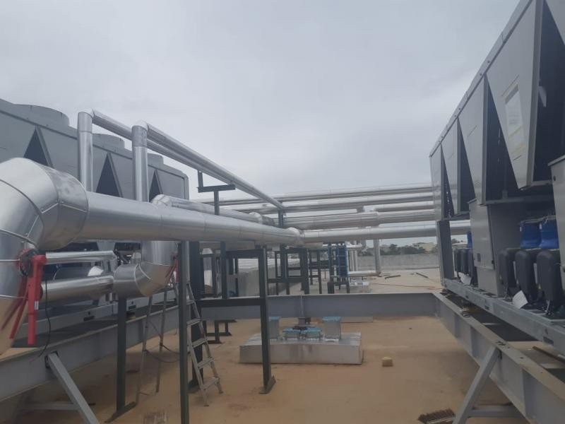 Fabrica de dutos para ar condicionado