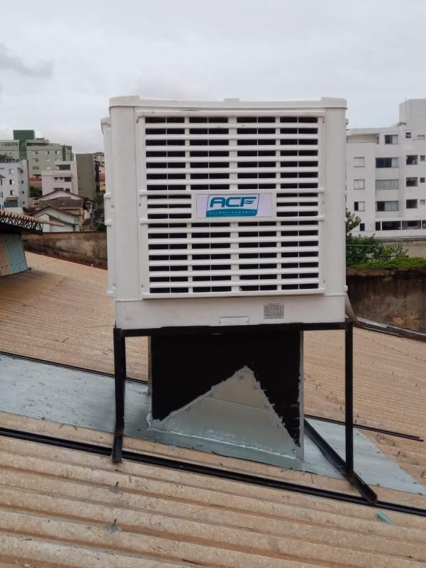 Instalação de climatizador evaporativo