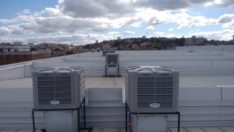 Manutenção climatizador evaporativo